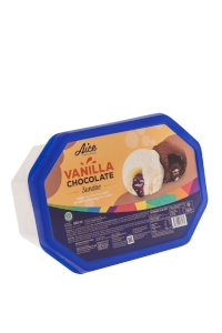 Container Aice Vanilla Chocolate Sundae 800ml TW-CT 93