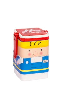 Lunch Box Morinaga Bento Set Square Arsitek 600ml TW-LB 77