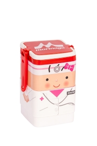 Lunch Box Morinaga Bento Set Square Dokter 600ml TW-LB 77