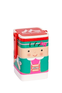Lunch Box Morinaga Bento Set Square Jurnalis 600ml TW-LB 77