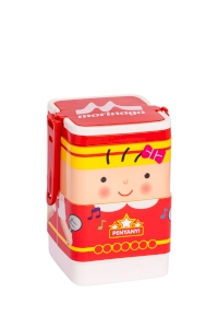 Lunch Box Morinaga Bento Set Square Penyanyi 600ml TW-LB 77